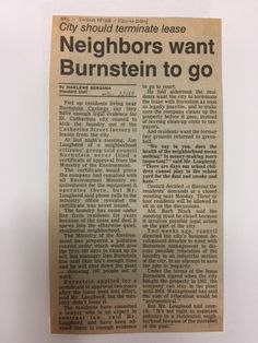 Interested in industries in St. We have information on Burnstein Castings. St Catharines, Local History, Fails, It Cast, October, Sayings, How To Make, Lyrics, Make Mistakes