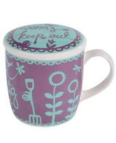Garden Party Mug with Lid