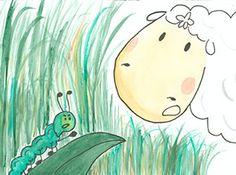 Pâturages et camouflage : joli comte pour enfant inventé et créé par Elfine vww.lescontesdelfine.com