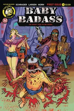 Baby Badass On A Brutal Beatdown: Action Labs February 2018 Solicits