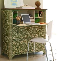 Home Office in a chest of drawers!