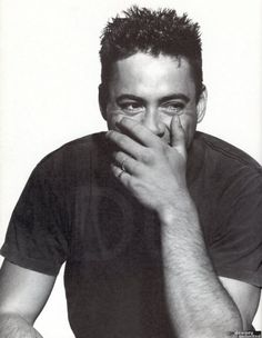 Robert Downey Jr. So young and cute