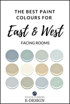 Western Exposure - The Best Paint Colours JUST when you've finally picked your FAVOURITE paint colour, you're EXCITED and ready to run to the paint store - the sun moves (well technically the earth moves, but let's not get into those little details). Oh the glory of exposure. However, exposure is one of the most IMPORTANT parts of picking a paint colour. So not only do you need to consider the size of your room, your countertop, flooring, furnishings, and the colour of your underw...