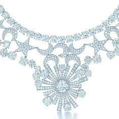 Tiffany designer Jean Schlumberger's Stars and Moons necklace emanates a constellation of light.