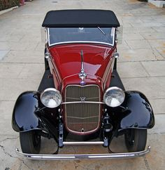 New a new car? How about a 1932 Ford?