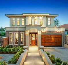 I Love Unique Home Architecture. Simply stunning architecture engineering full of charisma nature love. The works of architecture shows the harmony within. Modern House Plans, Modern House Design, Facade House, House Exteriors, House Goals, My Dream Home, Exterior Design, Roof Design, Future House