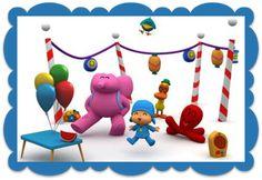 Pocoyo y sus amigos Diy Birthday, Birthday Parties, Birthday Ideas, Kids, Party Ideas, Ideas, Birthday Invitations, Pretty Images, Happy B Day