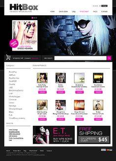 Music Store VirtueMart Templates by Delta Music Store, Web Layout, Web Design, Entertainment, Templates, Role Models, Website Layout, Template, Website Designs