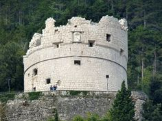 Riva del Garda (Tn) - Il Bastione / The Venetian fortress, was built in 1508 on a hill of the steep slopes of Mount Rocchetta, Italy / photo by Luigi Strano Riva Del Garda, Garda Italy, Lake Garda, Alps, Bella, Venice, Mount Rushmore, Adventure, Venetian