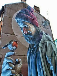 A Jurubeba Cultural:    ● A Arte... e a rua.  (Glasgow, Escócia).