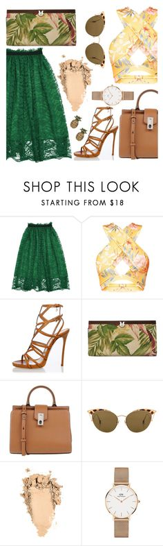 """""""Sin título #153"""" by madeleine-q ❤ liked on Polyvore featuring Dsquared2, Patricia Nash, Marc Jacobs, Ahlem and Daniel Wellington"""