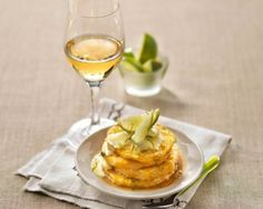 Butter-Roasted Pineapple and Lime Cream Recipe