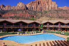 The Desert Pearl Inn. Amazing place where I spent my Honeymoon. Springdale UT. Zion National Park.