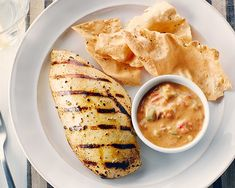 Grilled Marinated Chicken Breast with Yogurt and Asian Spices