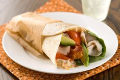 Take turkey, bacon, tomato, avocado and lettuce—the basic elements of a cobb salad—and roll 'em in a tortilla for a trend-setting sandwich.