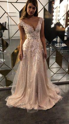 Dream Wedding Dresses, Bridal Dresses, Crystal Wedding Dresses, Beautiful Wedding Gowns, Pictures Of Wedding Dresses, Wedding Dress With Gold, Sparkle Wedding Dresses, Couture Wedding Dresses, Wedding Dresses With Color