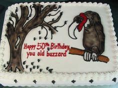 Wedding Cakes in Columbia SC Region . 50th Birthday Party, Birthday Cakes, Happy Birthday, Over The Hill Cakes, Vintage Bakery, Cupcake Cakes, Cupcakes, Retirement Cakes, Buzzard