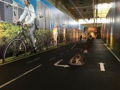 auf der Bikerautobahn - Teststrecke