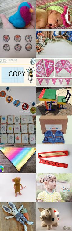 One for the kiddiwinkles by Grannie Bunting on Etsy--Pinned with TreasuryPin.com