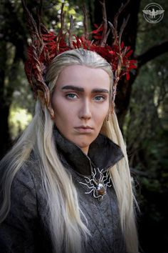 Thranduil by ~Mink-Iason. | #cosplay #costume #books #literature #LordoftheRings #elves #Thranduil
