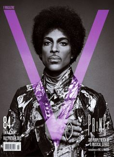 V Magazine - Fall 2013 Issue  - Prince. Photography - Inez van Lamsweerde & Vinoodh Matadin. Stylist - Melanie Ward.