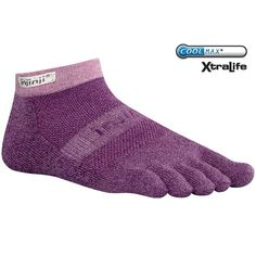 Compression socks by Injinji, the original performance toe socks. The only way to rock a runway!