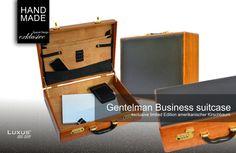 Gentelman Business Luxus suitcase sind weltweit streng limitiert und gehören zur absoluten Luxusklasse. Sie stehen für exklusive Einzigartigkeit und Qualität.