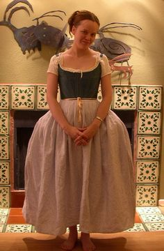 How to make an Easy, Authentic Eighteenth Century Petticoat
