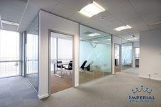 Compartimentari birouri cu pereti de sticla, estetice si moderne