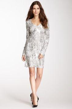 Velvet By Graham & Spencer Darcel Starburst Sequin Dress