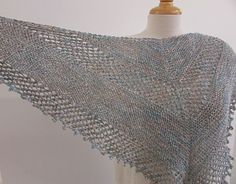 ~Shimmer Shawl~  Freebie on Ravelry. Elegant design that knits up quick, using just one skein of this gorgeous yarn.  Would make an amazing Mother's Day gift for any special mother you know.   Grab a copy of the pattern here and remember to give the pattern a  to share the love.  http://www.ravelry.com/patterns/library/s-h-i-m-m-e-r--s-h-a-w-l