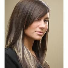 peek a boo highlights... LOVE THIS! I want to do this with red instead of brown. Or blonde on top with peek a boo red