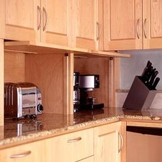 Options for Appliance Garages