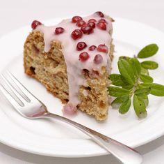 Puolukka-jogurttikakku ja muita puokukkaisia ohjeita