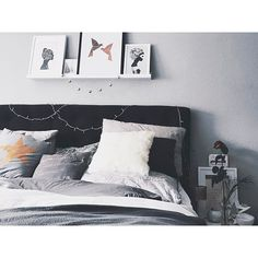 Leaning typography, black and white and abstract art to brighten up your interior Bedroom Art, News Design, Are You Happy, Abstract Art, Gallery Wall, Typography, Cushions, Framed Prints, Black And White
