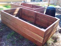 Wood Raised Garden Beds