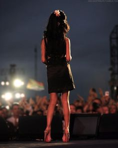 """Amy Winehouse. """"And it's not just my pride, it's just till these tears have dried..."""""""