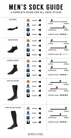 Guide To Men's Socks | Bows-N-Ties.com