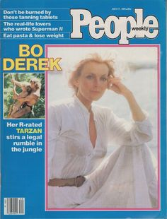People - July 1981 Back Issue for sale online Movie Magazine, Cool Magazine, Magazine Covers, Old Magazines, Vintage Magazines, Bo Derek, Valley Girls, Rumble In The Jungle