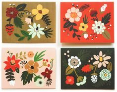 Folk Cards by Rifle Paper co
