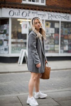 Find Out Where To Get The Shoes Fila Disruptors, Ribbed Crop Top, Jd Sports, 90s Style, Denim Overalls, Spice Girls, Brown Bags, Buy Shoes, Puffer Jackets