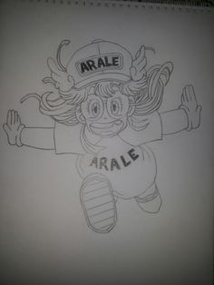 My drawing Arale
