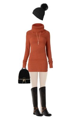 """""""A doll in a turtleneck"""" by kim-mcculley ❤ liked on Polyvore featuring adidas Originals, Diane Von Furstenberg, Very Volatile, Black, Aéropostale and MICHAEL Michael Kors"""