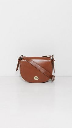 Small Buckle Saddle Bag by Samuji