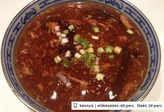 Kínai Savanyú-erős leves