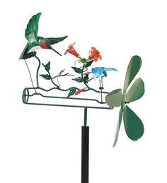 Art U003e Wind And Solar Garden Art U003e Whirligigs U003e Hummingbird
