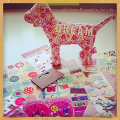Images from Believe Creative Studio- Stickers collection! Surface,Textile & Graphic design