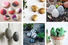 DIY avec les kids spécial retour de vacances : des galets à peindre #stones #rock