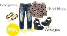 """""""Toya's Tales Style Diary - My Formula For A """"Good Jeans"""" Day"""" by latoyacl ❤ liked on Polyvore"""