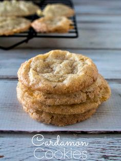 Cardamon Cookies - Rich Spice Cookies